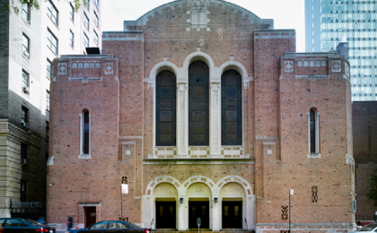 Congregation Ansche Chesed<br/>New York, NY